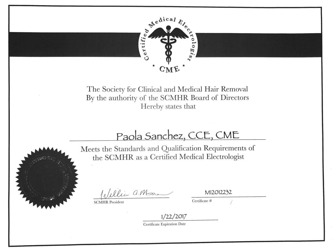 Boynton Beach laser hair removal specialty certification